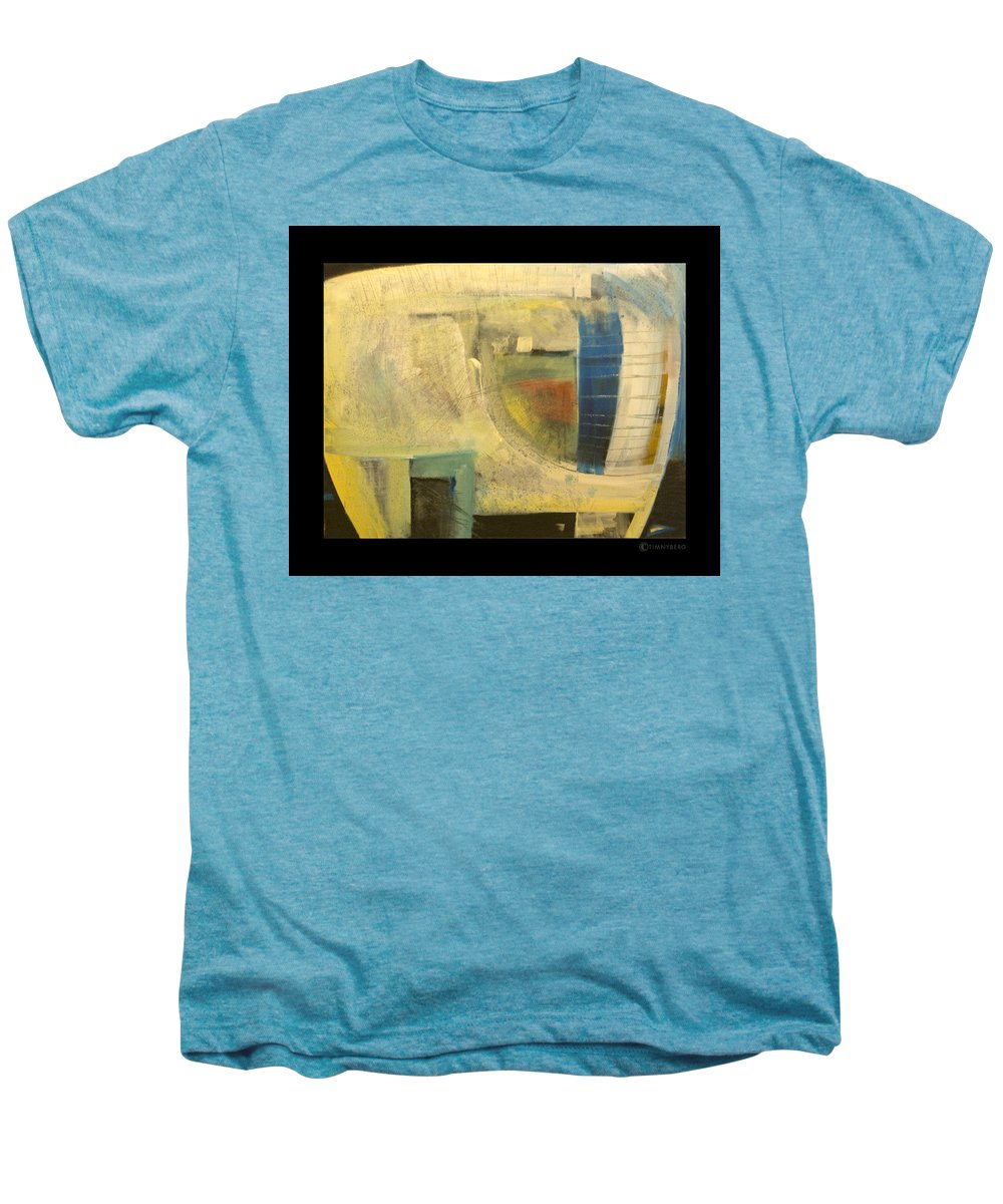 Dog Men's Premium T-Shirt featuring the painting Space Dog by Tim Nyberg