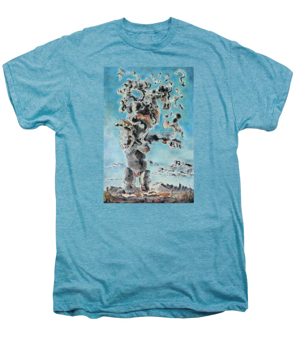 Surreal Men's Premium T-Shirt featuring the painting Spectre by Dave Martsolf