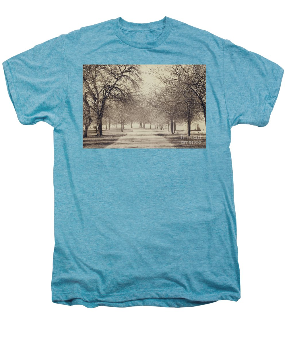 Trees Men's Premium T-Shirt featuring the photograph Stand Where I Stood by Dana DiPasquale