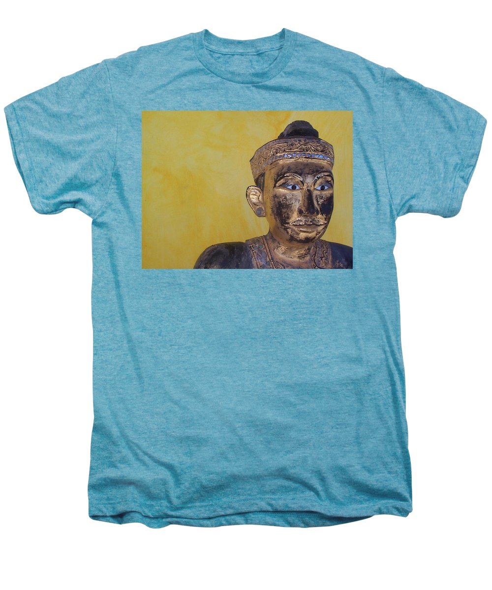 Charity Men's Premium T-Shirt featuring the photograph Statue by Mary-Lee Sanders
