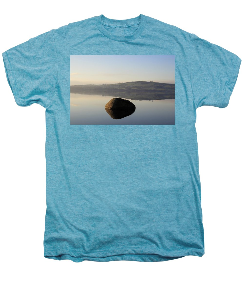 Landscape Men's Premium T-Shirt featuring the photograph Stone Egg by Phil Crean