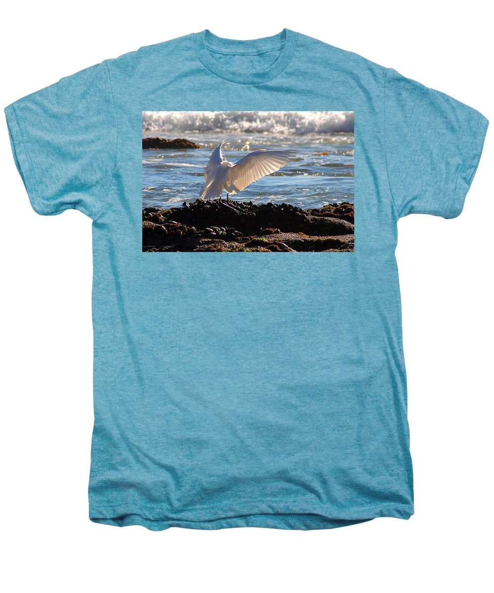 Clay Men's Premium T-Shirt featuring the photograph Strut by Clayton Bruster