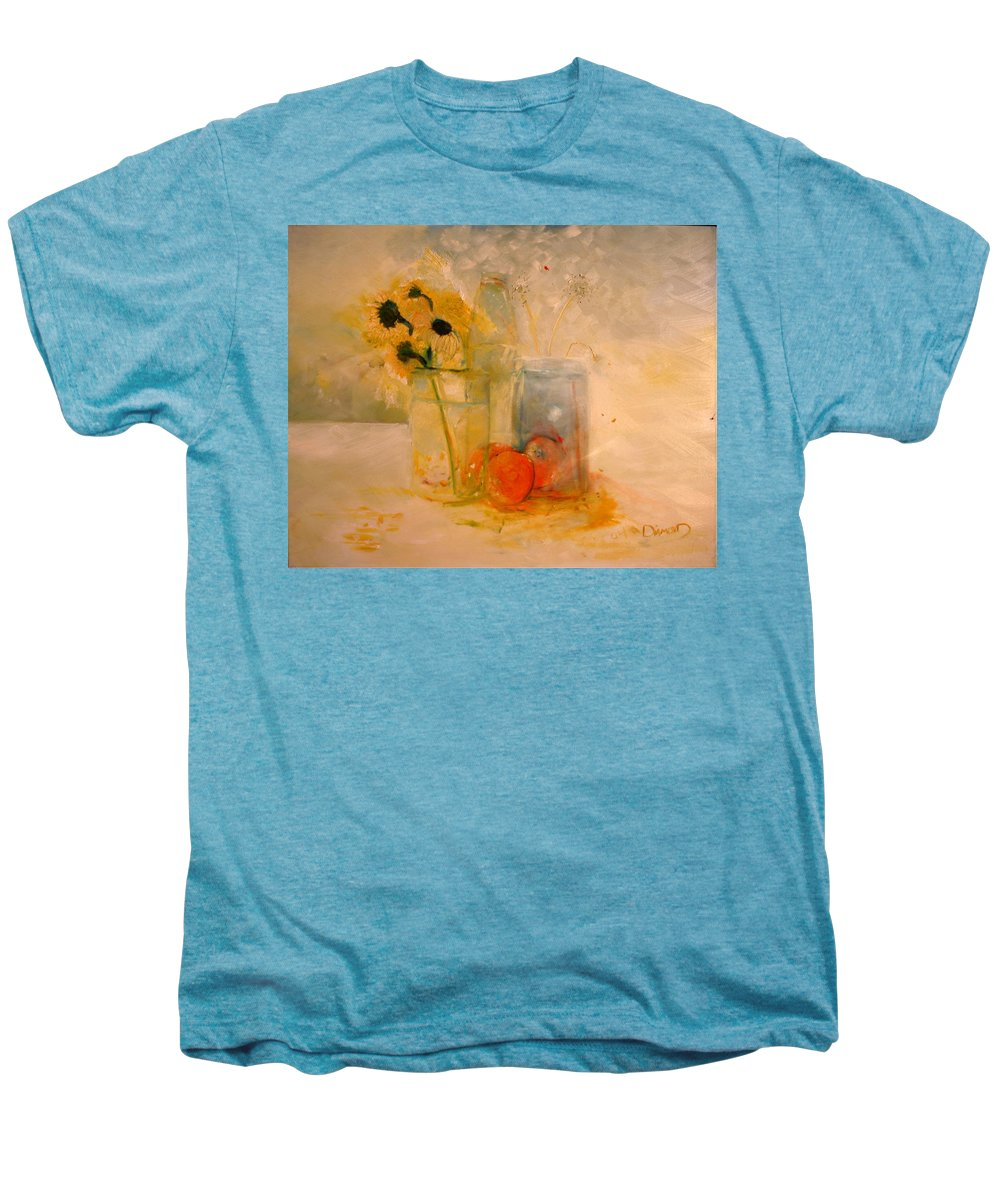 Daisey Men's Premium T-Shirt featuring the painting Summer Light by Jack Diamond