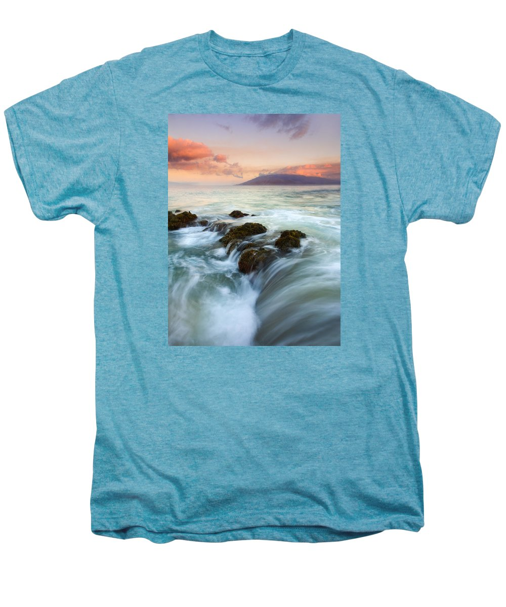 Sunrise Men's Premium T-Shirt featuring the photograph Sunrise Drain by Mike Dawson