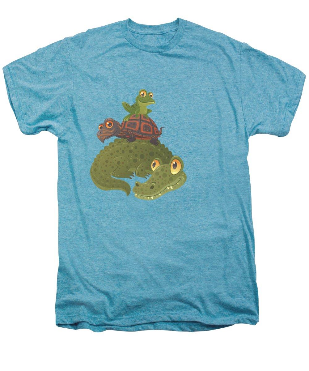 Crocodile Premium T-Shirts