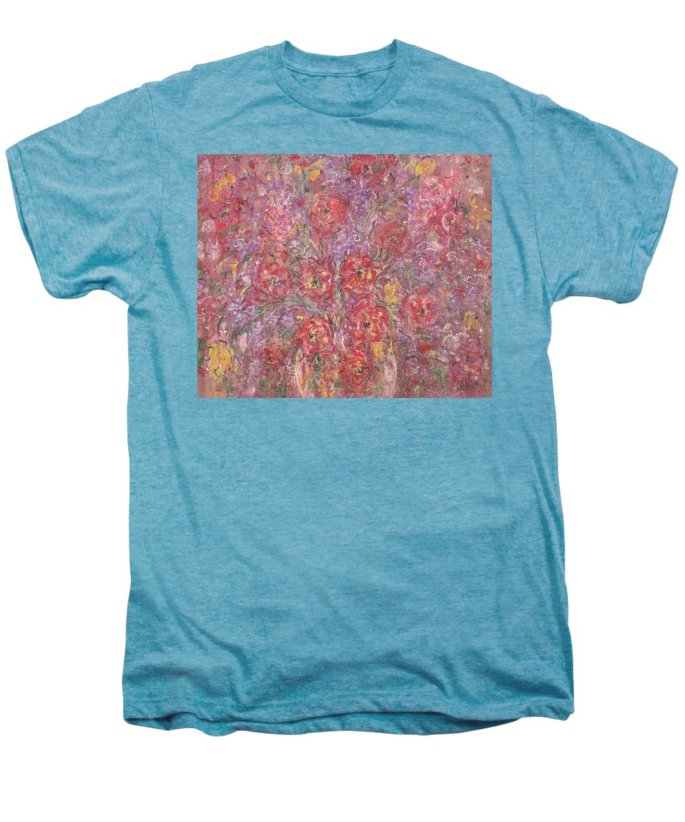 Still Life Men's Premium T-Shirt featuring the painting Sweet Memories by Natalie Holland
