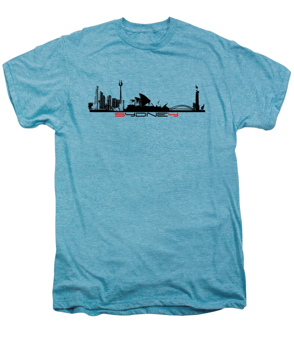 Sydney Skyline Premium T-Shirts