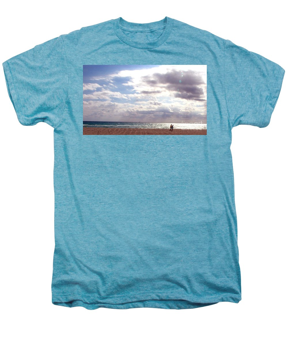 Walking Men's Premium T-Shirt featuring the photograph Taking A Walk by Amanda Barcon