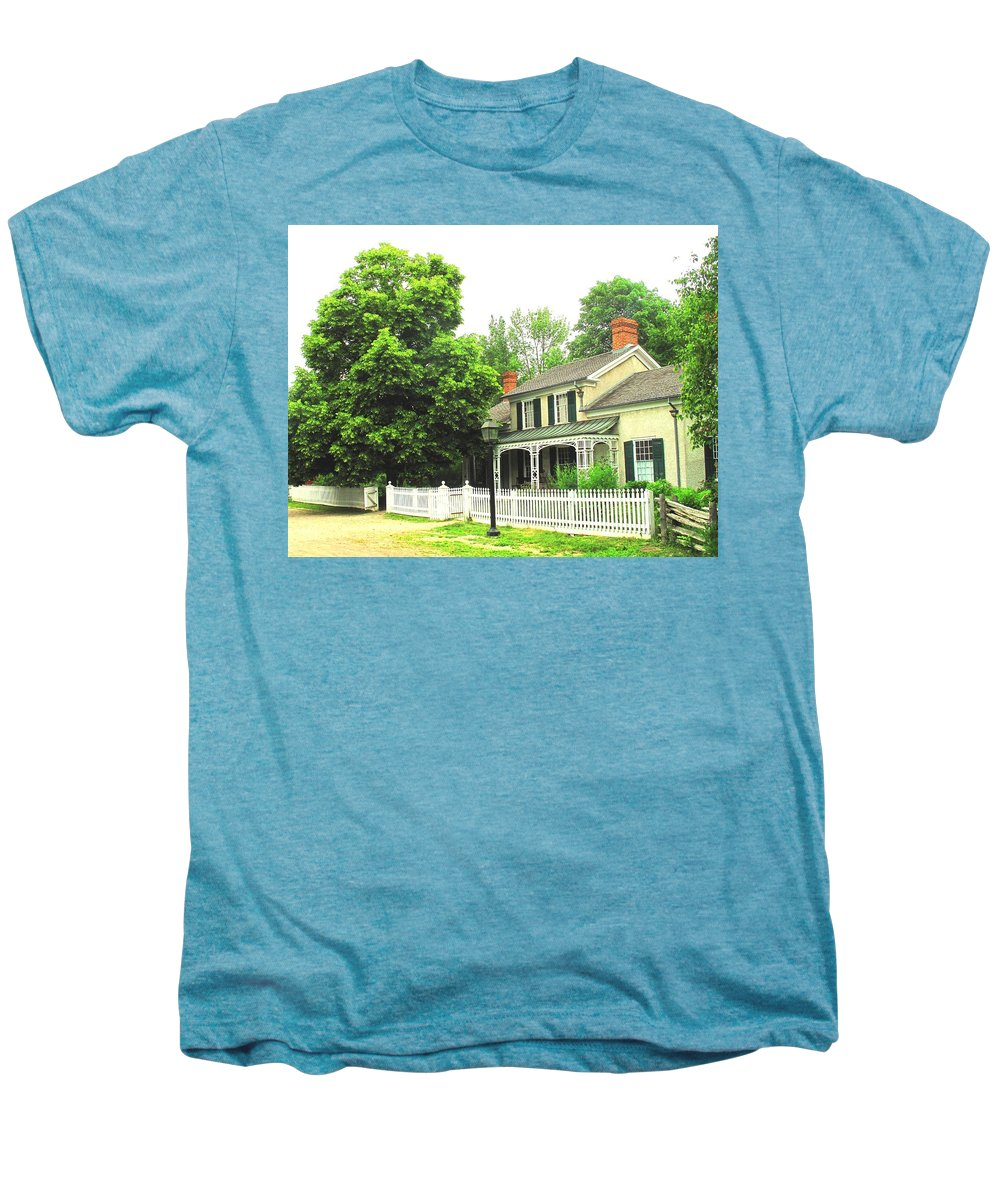 Doctor Men's Premium T-Shirt featuring the photograph The Doctors House by Ian MacDonald