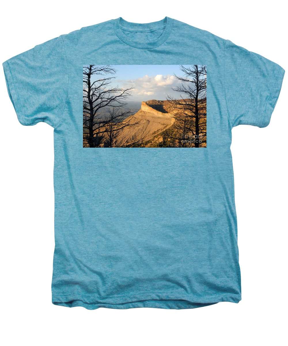 Mesa Men's Premium T-Shirt featuring the photograph The Great Mesa by David Lee Thompson
