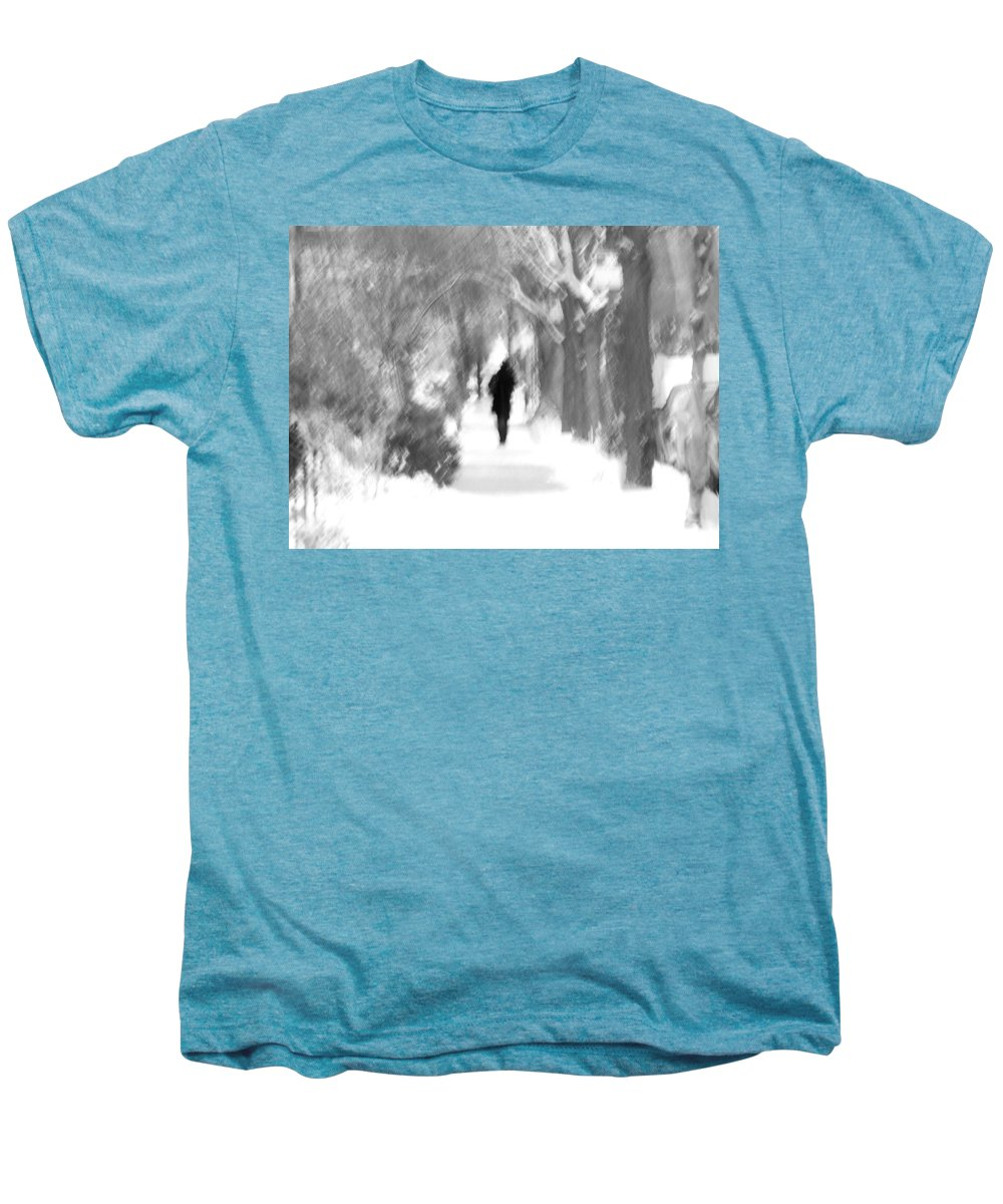 Blur Men's Premium T-Shirt featuring the photograph The Long December by Dana DiPasquale