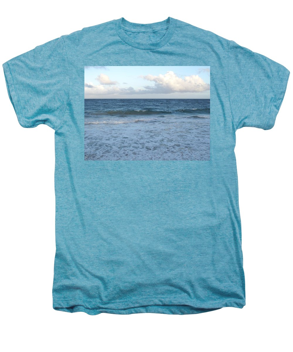Surf Men's Premium T-Shirt featuring the photograph The Next Wave by Ian MacDonald