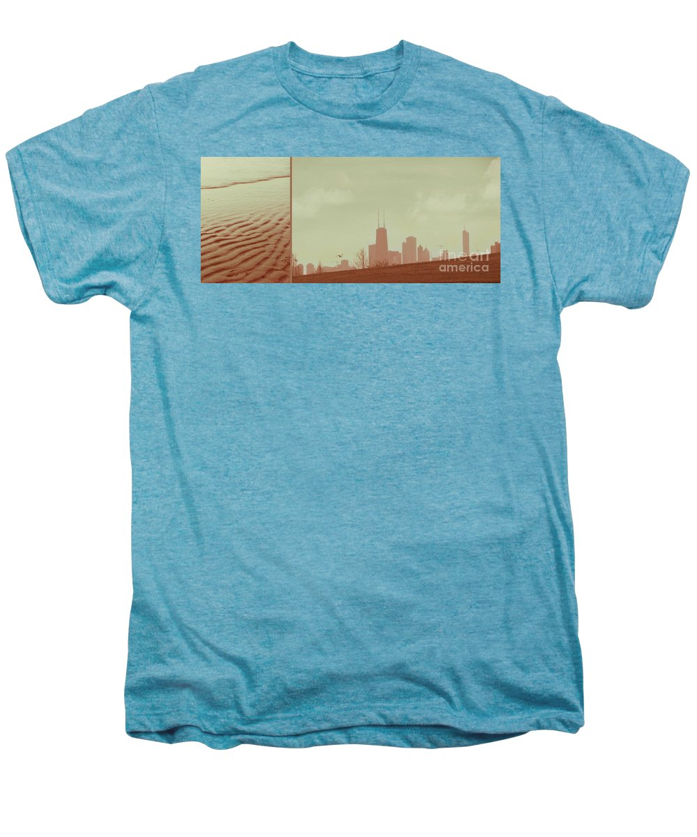 Beach Men's Premium T-Shirt featuring the photograph The Other Side Of Fate by Dana DiPasquale