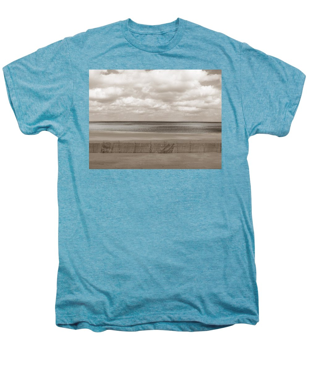 Ocean Men's Premium T-Shirt featuring the photograph The Perfect Sky Is Torn by Dana DiPasquale