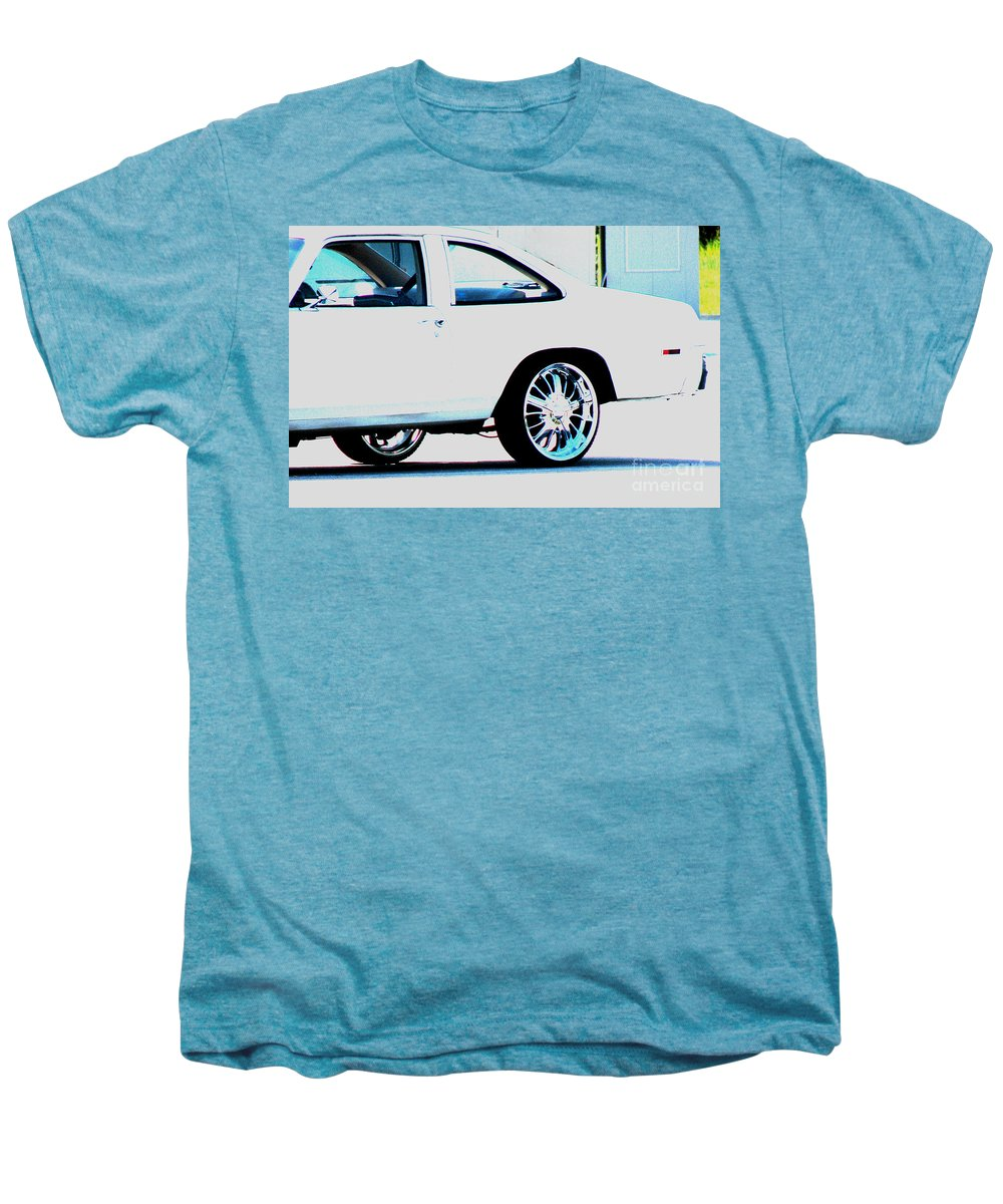 Car Men's Premium T-Shirt featuring the photograph The Ride by Amanda Barcon