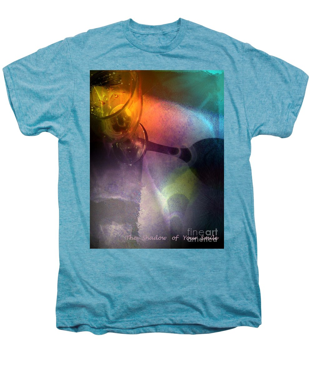 Fantasy Men's Premium T-Shirt featuring the painting The Shadow Of Your Smile by Miki De Goodaboom