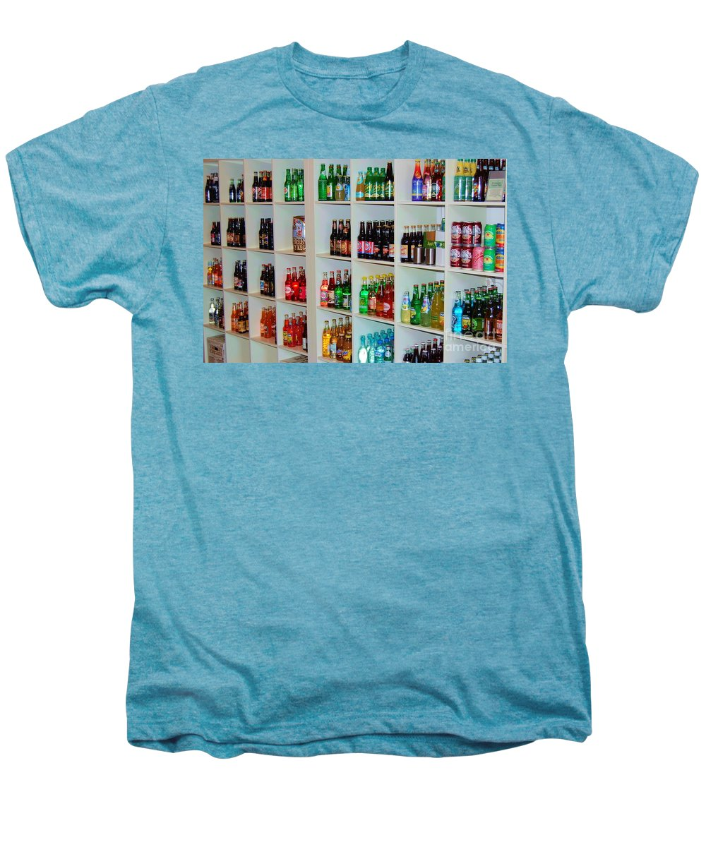 Soda Men's Premium T-Shirt featuring the photograph The Soda Gallery by Debbi Granruth