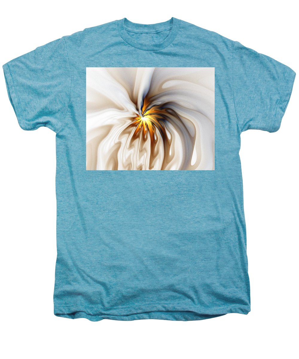 Digital Art Men's Premium T-Shirt featuring the digital art This Too Will Pass... by Amanda Moore