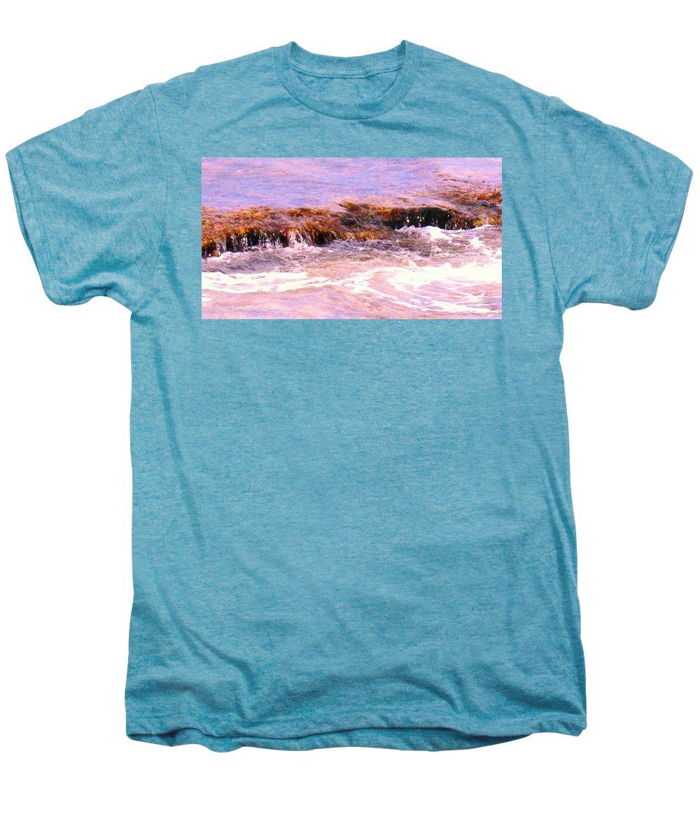 Tide Men's Premium T-Shirt featuring the photograph Tidal Pool by Ian MacDonald