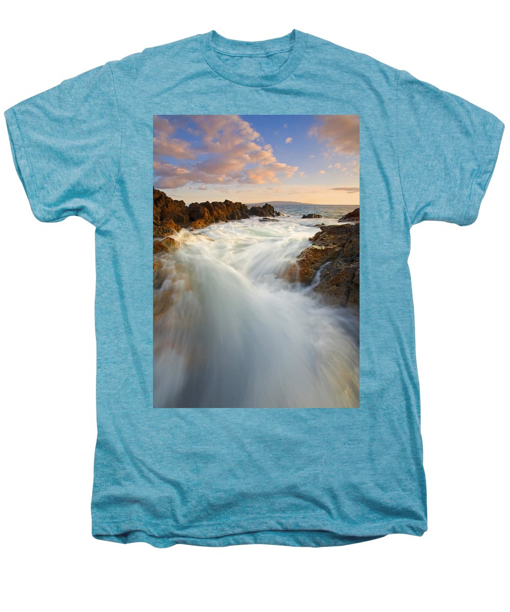 Surge Men's Premium T-Shirt featuring the photograph Tidal Surge by Mike Dawson