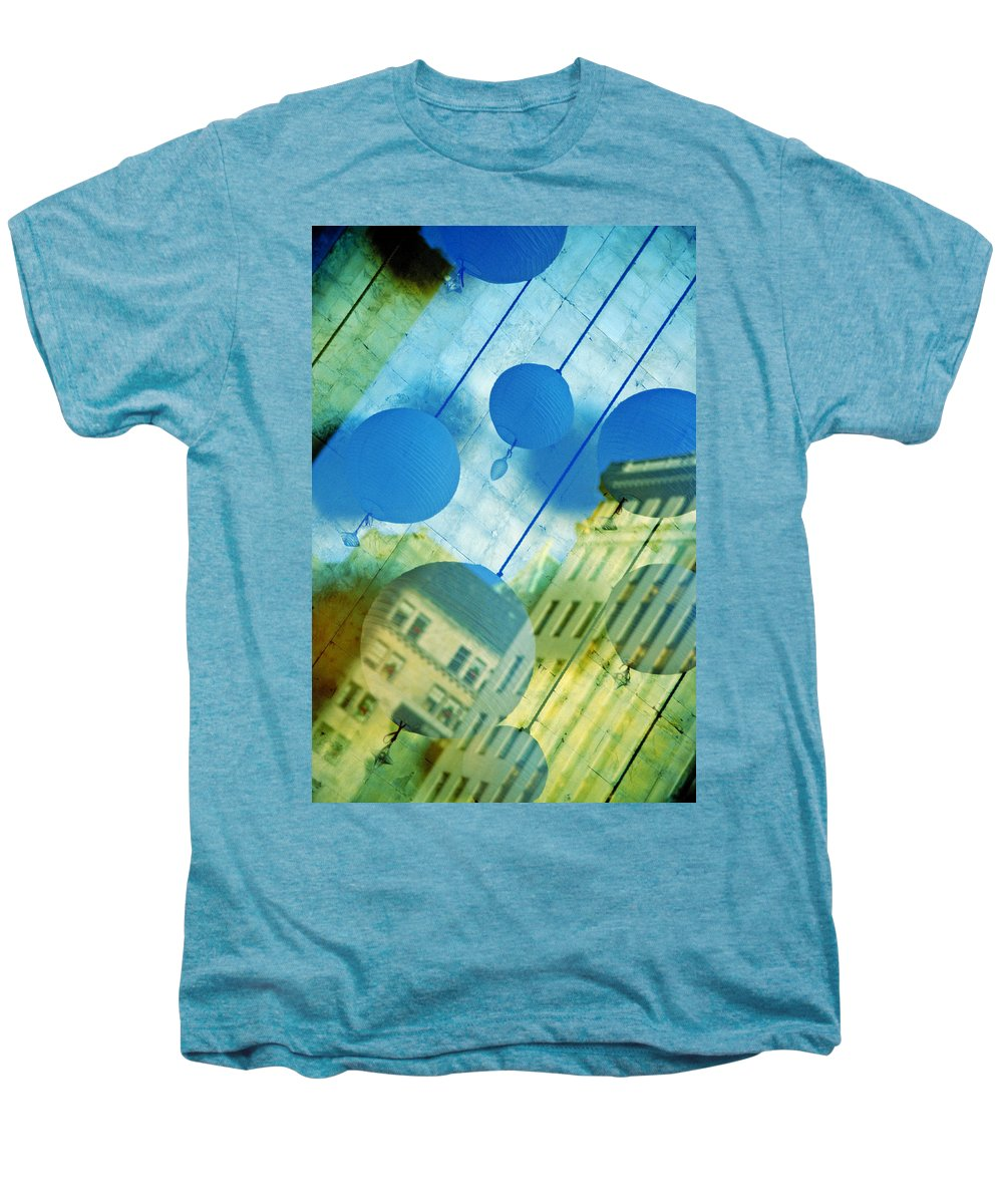 New York Men's Premium T-Shirt featuring the photograph Tiffanys by Skip Hunt