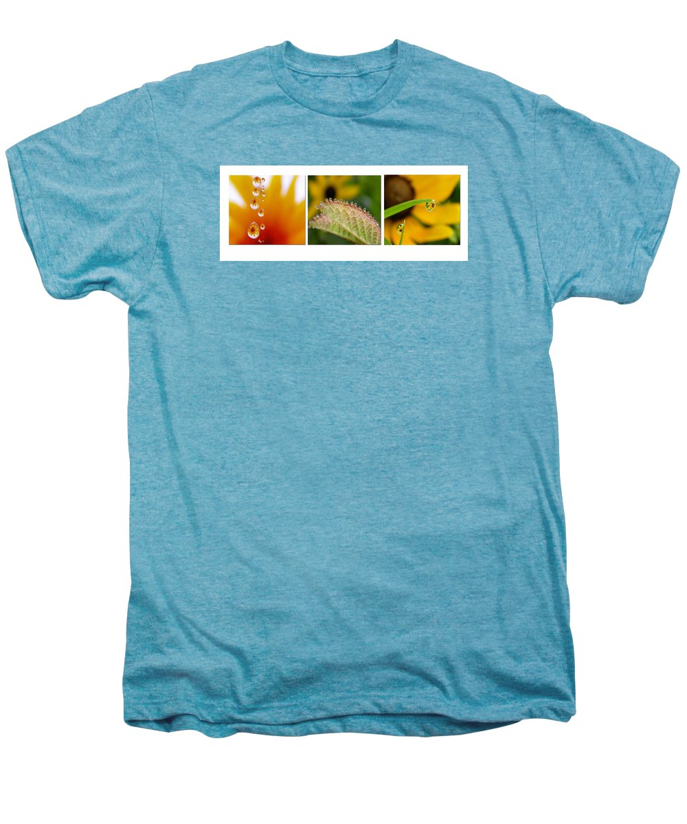 Dew Men's Premium T-Shirt featuring the photograph Tiny Miracles by Linda Murphy