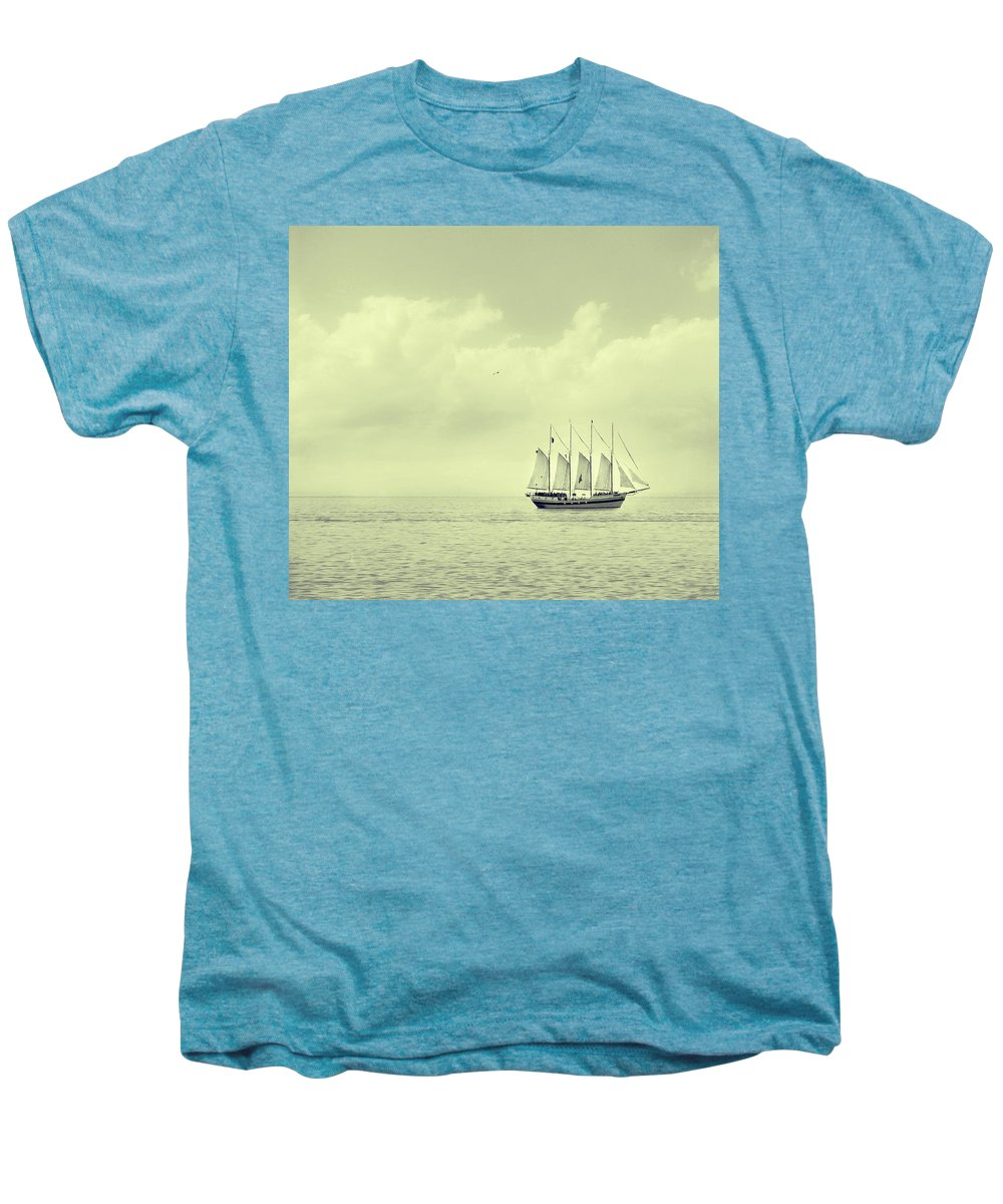 Ship Men's Premium T-Shirt featuring the photograph To Hold Time In Your Hand by Dana DiPasquale