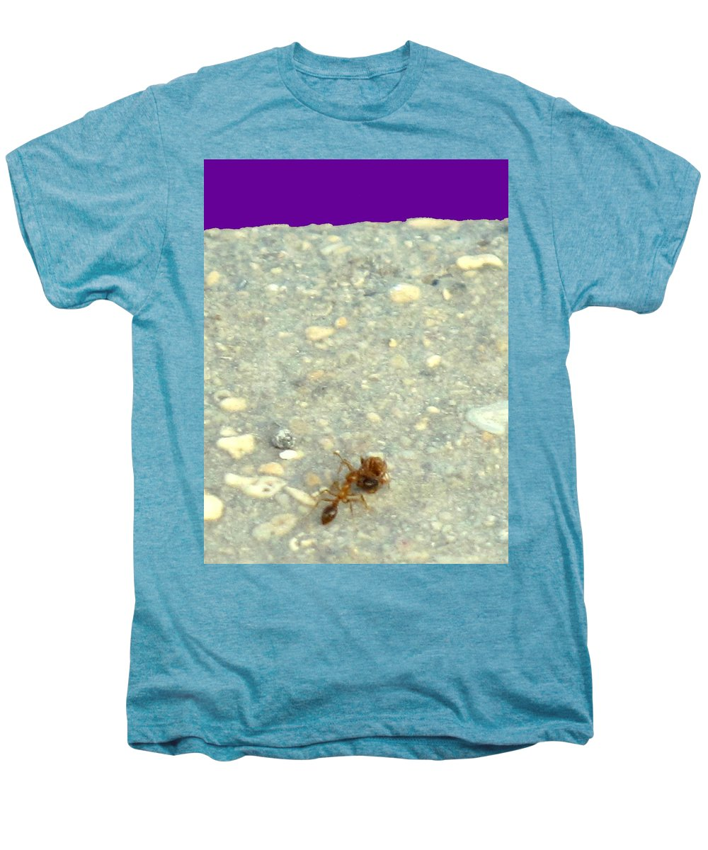 Ant Men's Premium T-Shirt featuring the photograph To The Edge by Ian MacDonald