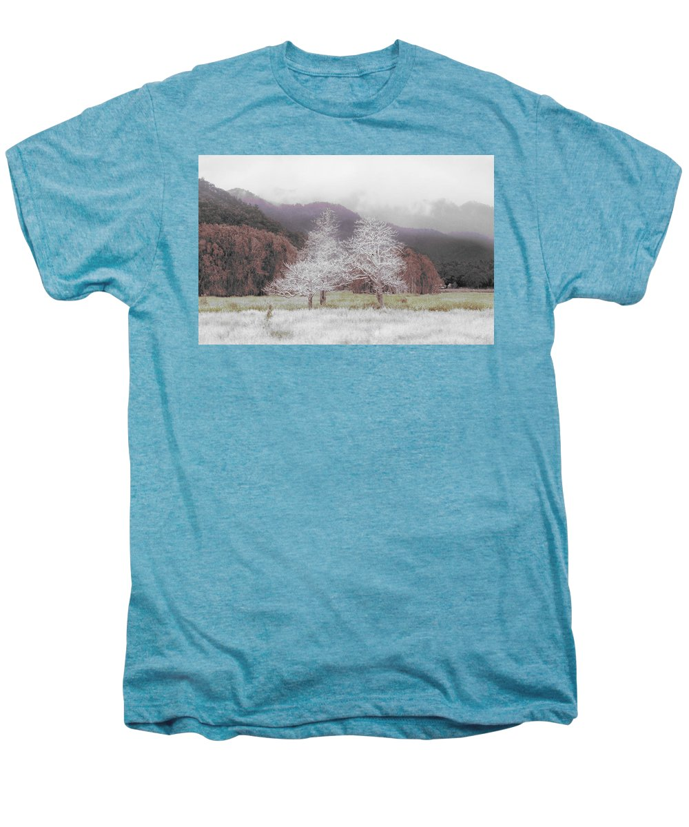Landscape Men's Premium T-Shirt featuring the photograph Together We Stand by Holly Kempe