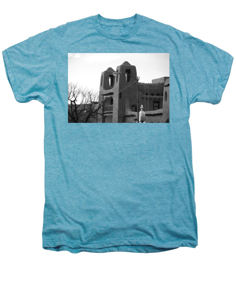 Architecture Men's Premium T-Shirt featuring the photograph Town Hall by Rob Hans