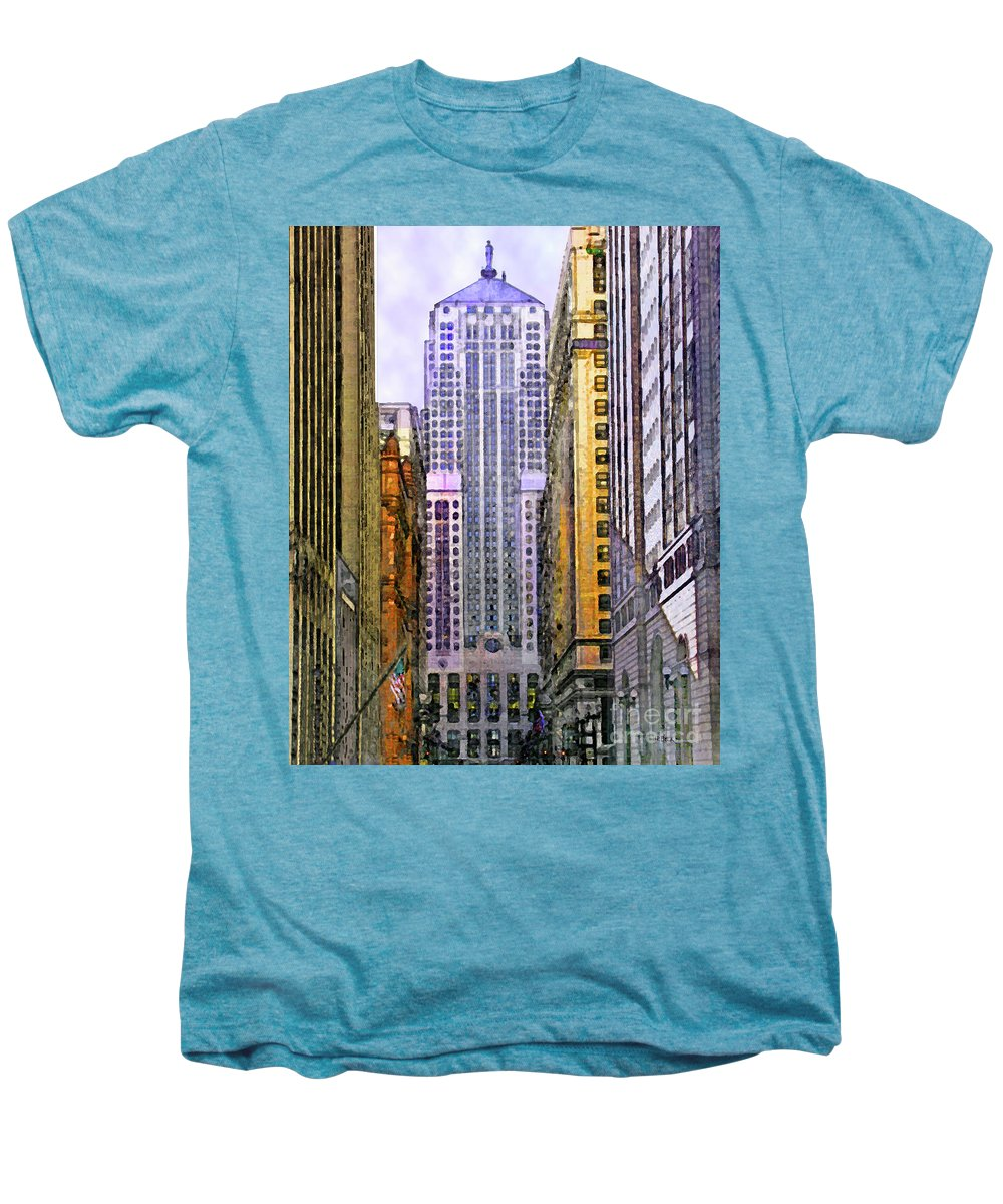 Trading Places Men's Premium T-Shirt featuring the digital art Trading Places by John Beck