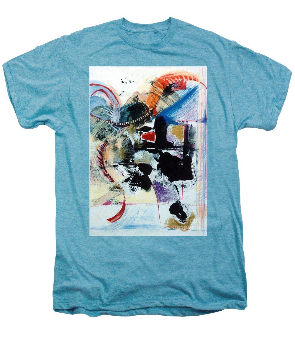 Transcendance Men's Premium T-Shirt featuring the drawing Transcendance by Kerryn Madsen-Pietsch