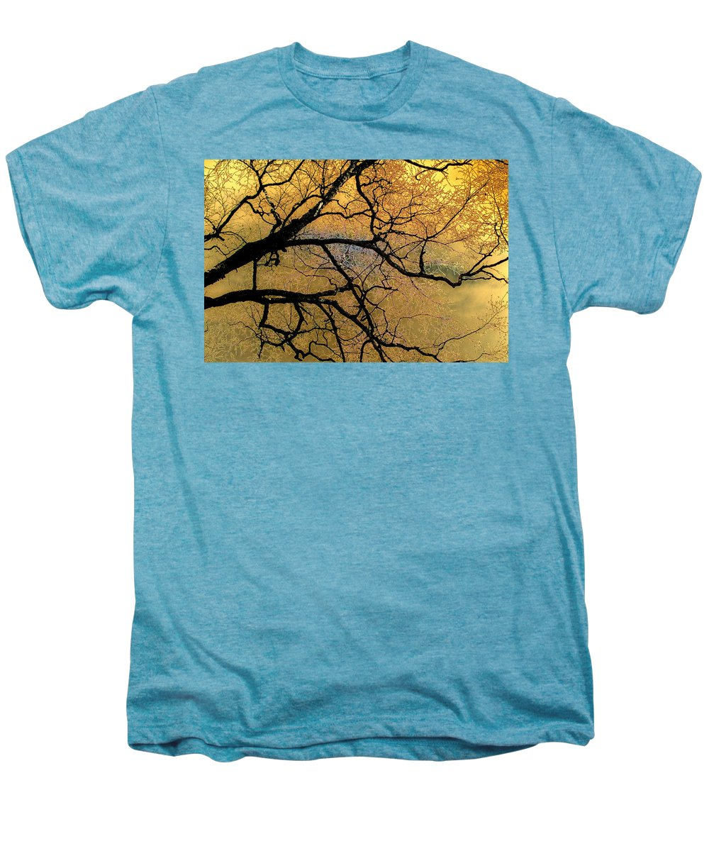 Scenic Men's Premium T-Shirt featuring the photograph Tree Fantasy 7 by Lee Santa