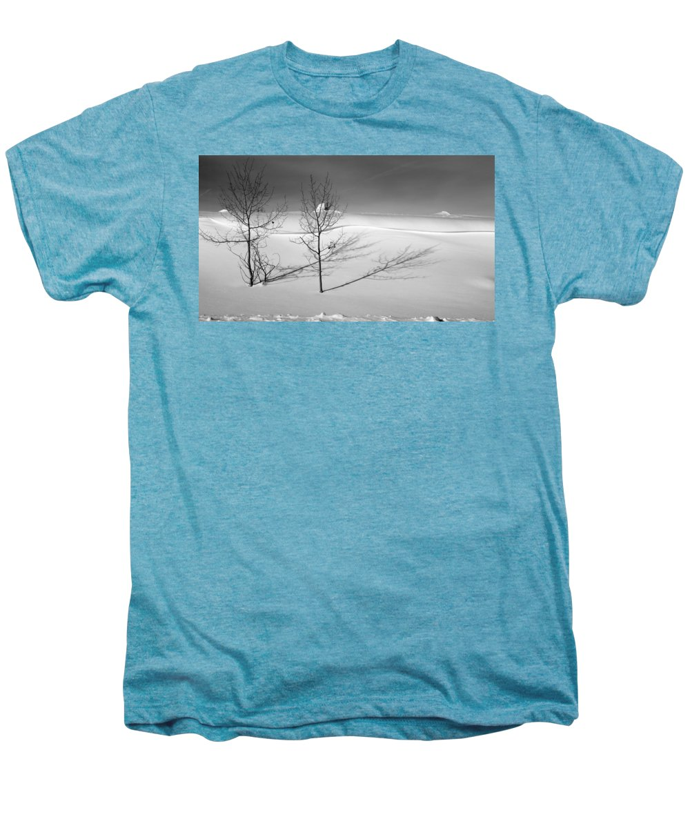 Nature Men's Premium T-Shirt featuring the photograph Twins by Skip Hunt
