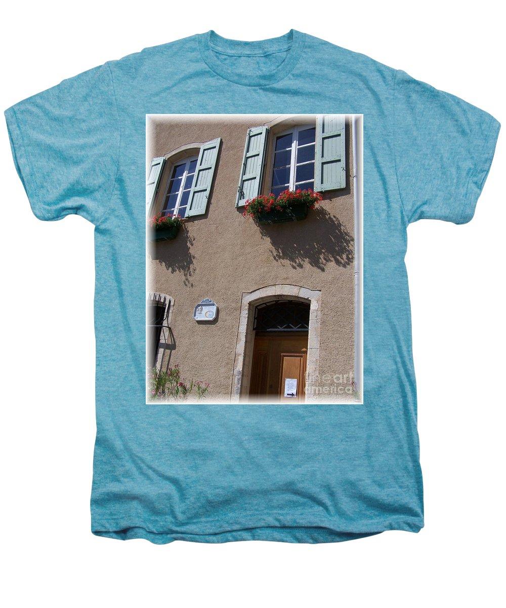 House Men's Premium T-Shirt featuring the photograph Un Maison by Nadine Rippelmeyer