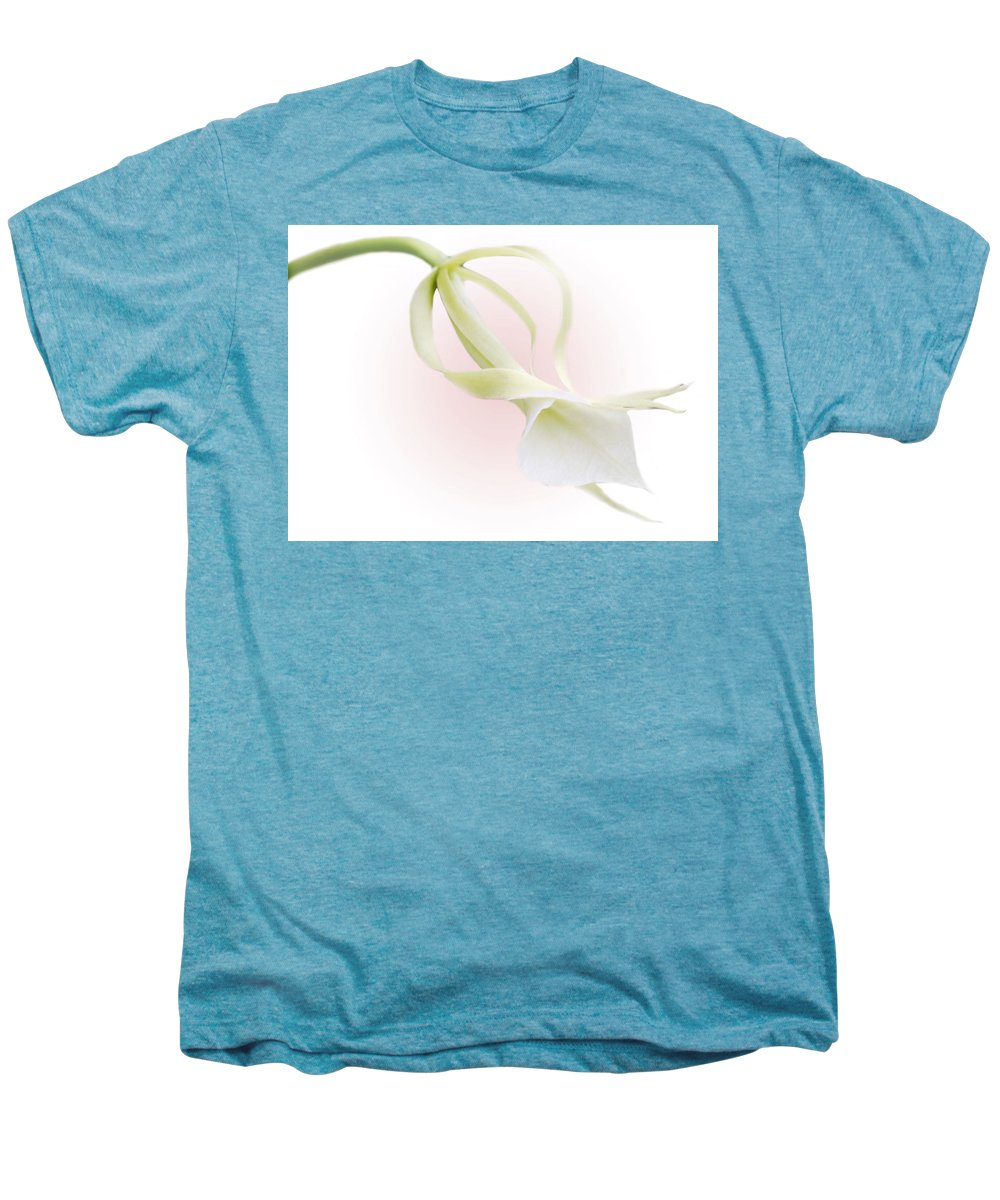 Love Men's Premium T-Shirt featuring the photograph Valentine Orchid by Marilyn Hunt