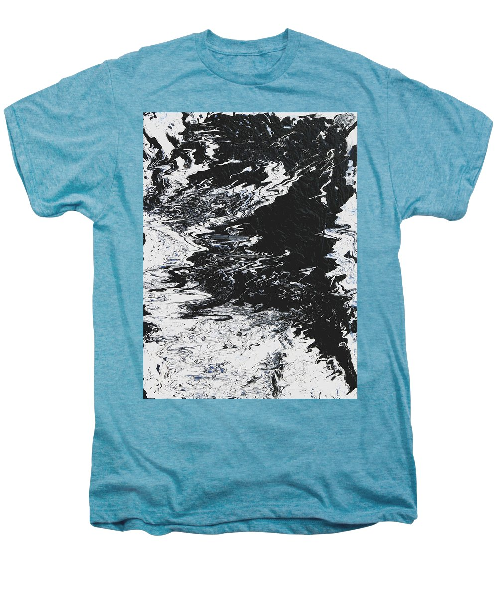 Fusionart Men's Premium T-Shirt featuring the painting Victory by Ralph White