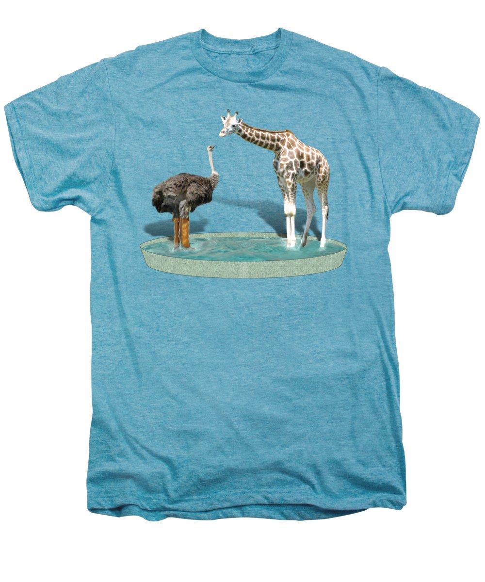 Ostrich Premium T-Shirts