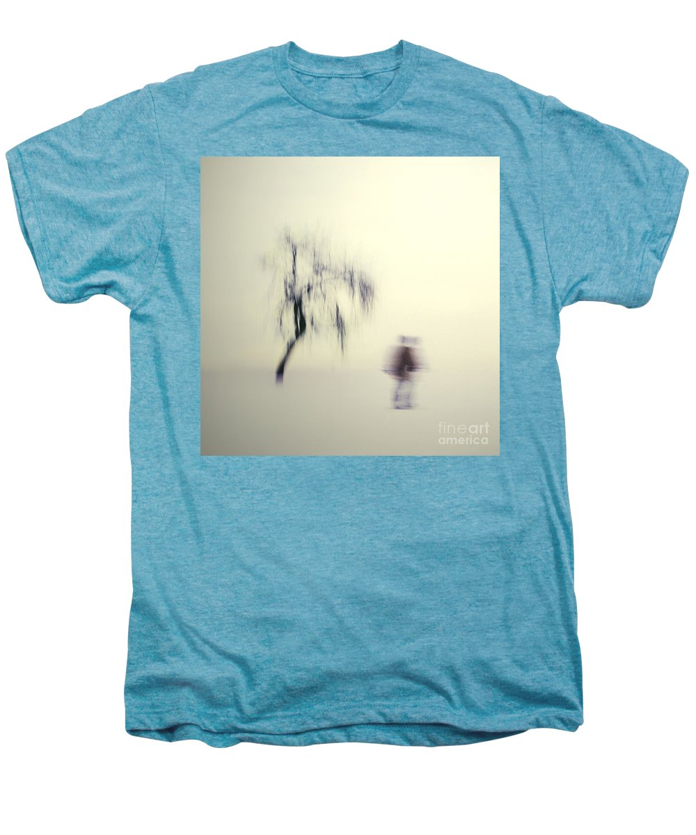 Blur Men's Premium T-Shirt featuring the photograph What Is The Way To The Light by Dana DiPasquale