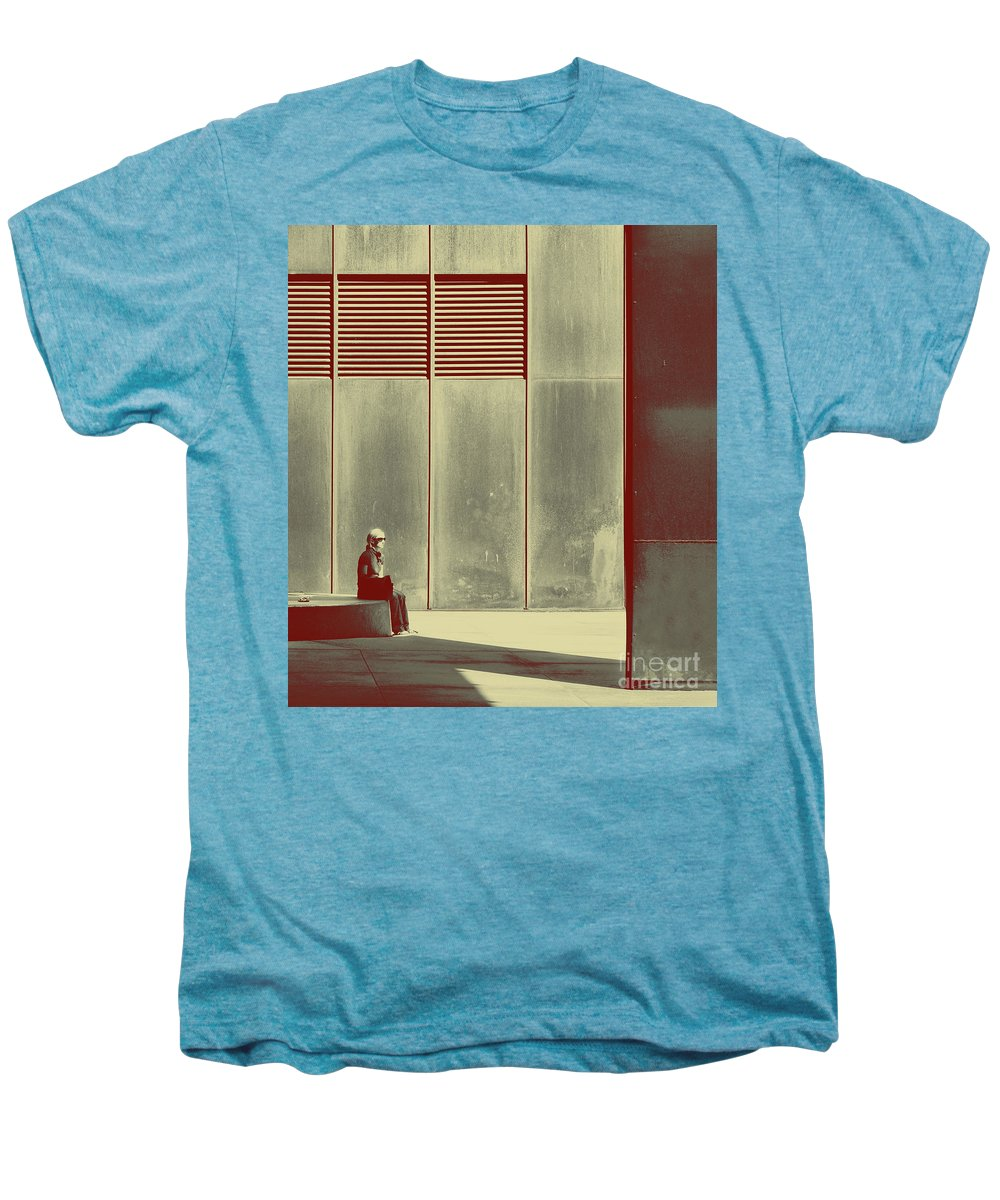 Alone Men's Premium T-Shirt featuring the photograph When Shes Gone by Dana DiPasquale