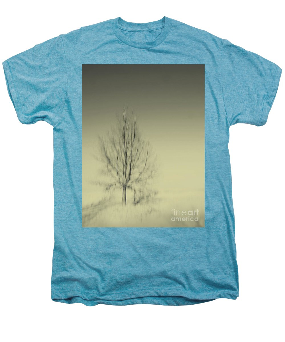 Dipasquale Men's Premium T-Shirt featuring the photograph When You Wake Up I Will Have Gone by Dana DiPasquale