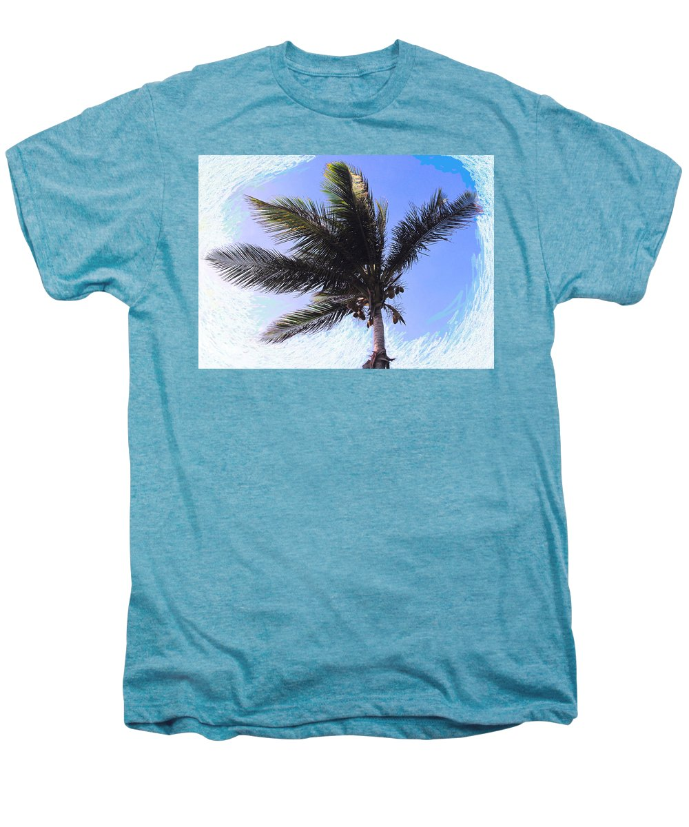 Palm Men's Premium T-Shirt featuring the photograph Where Coconuts Come From by Ian MacDonald