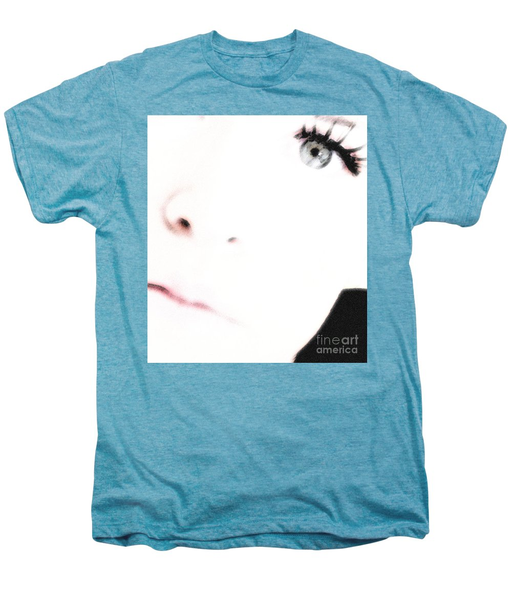 Face Men's Premium T-Shirt featuring the photograph Where Is The Soul by Amanda Barcon