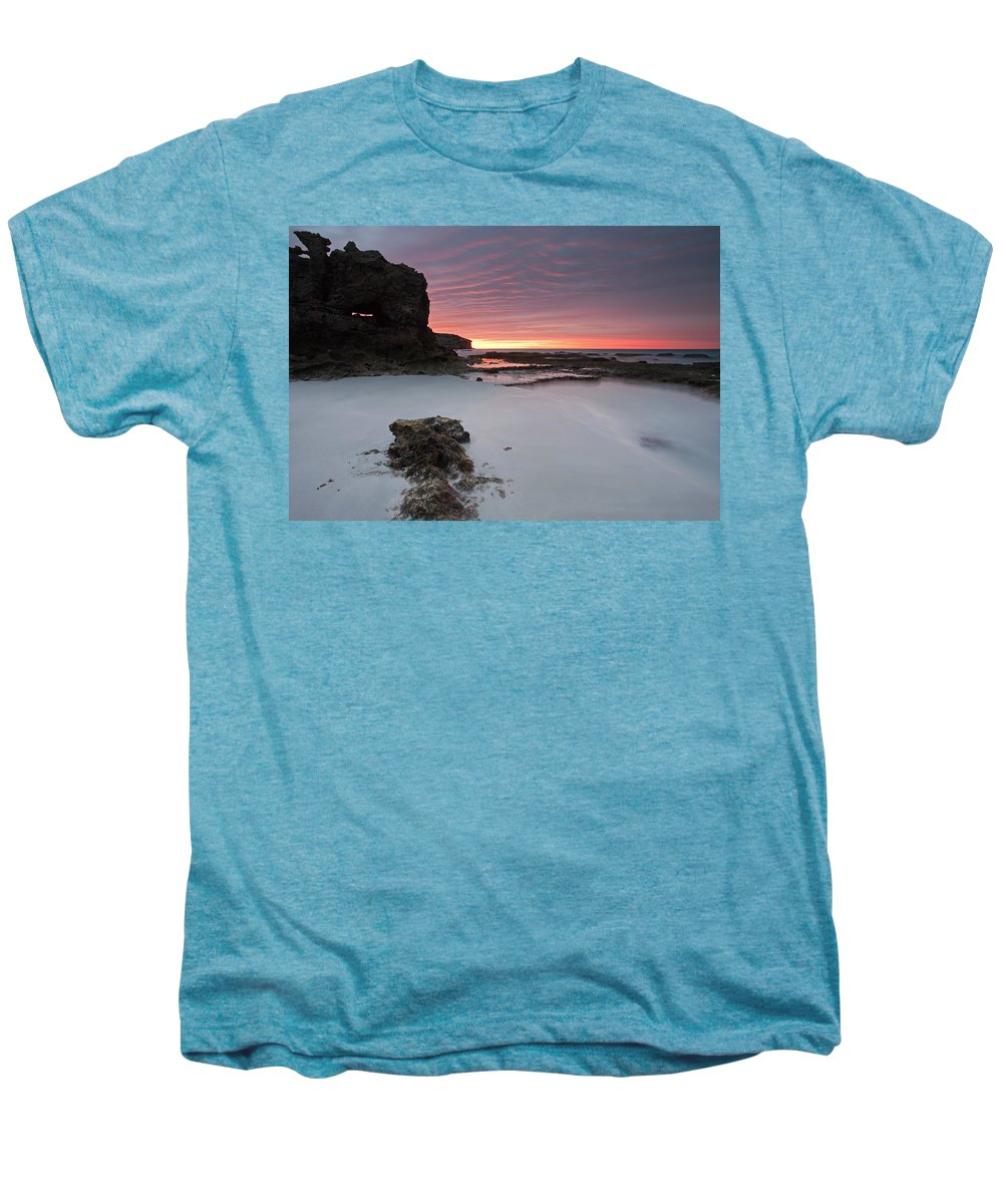 Sunrise Men's Premium T-Shirt featuring the photograph Window On Dawn by Mike Dawson