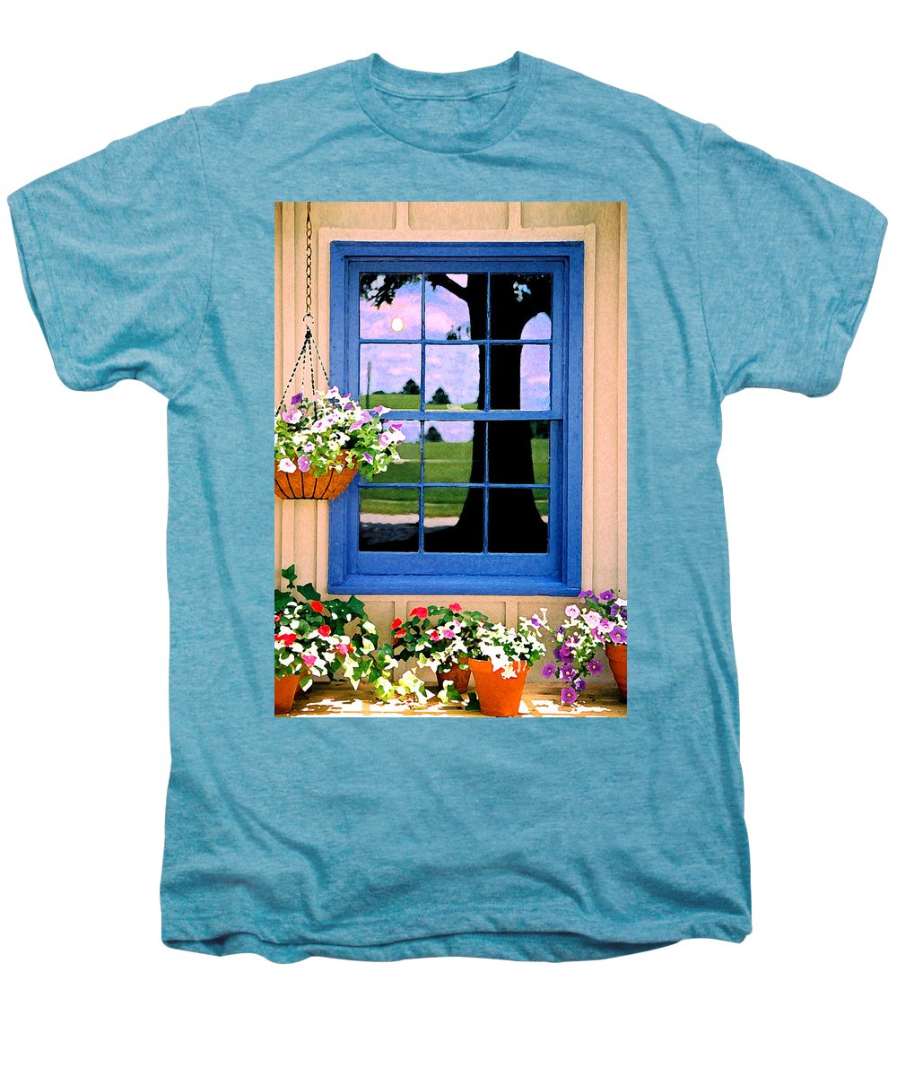 Still Life Men's Premium T-Shirt featuring the photograph Window by Steve Karol