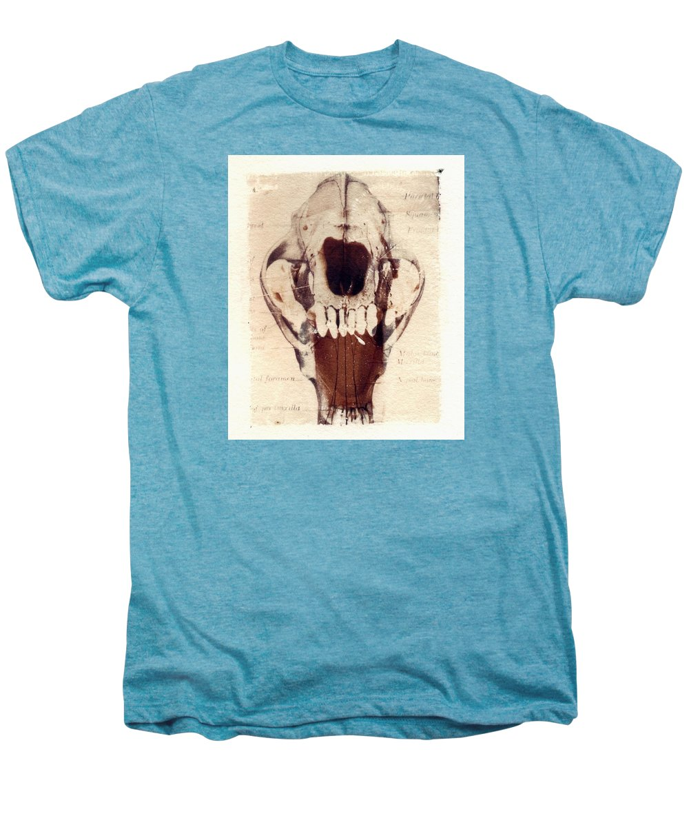 Polaroid Men's Premium T-Shirt featuring the photograph X Ray Terrestrial by Jane Linders