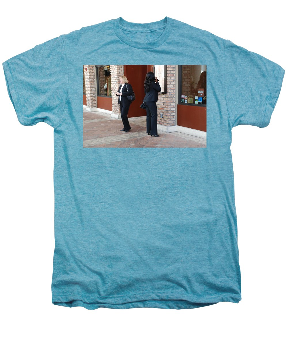 Girls Men's Premium T-Shirt featuring the photograph Ying Yang by Rob Hans