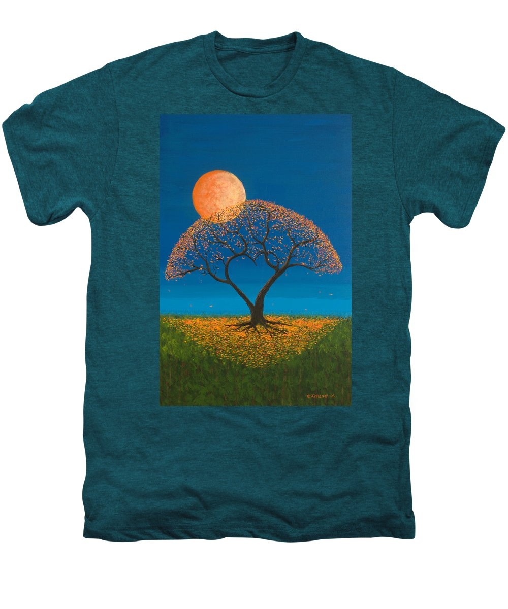 Love Men's Premium T-Shirt featuring the painting Falling For You by Jerry McElroy