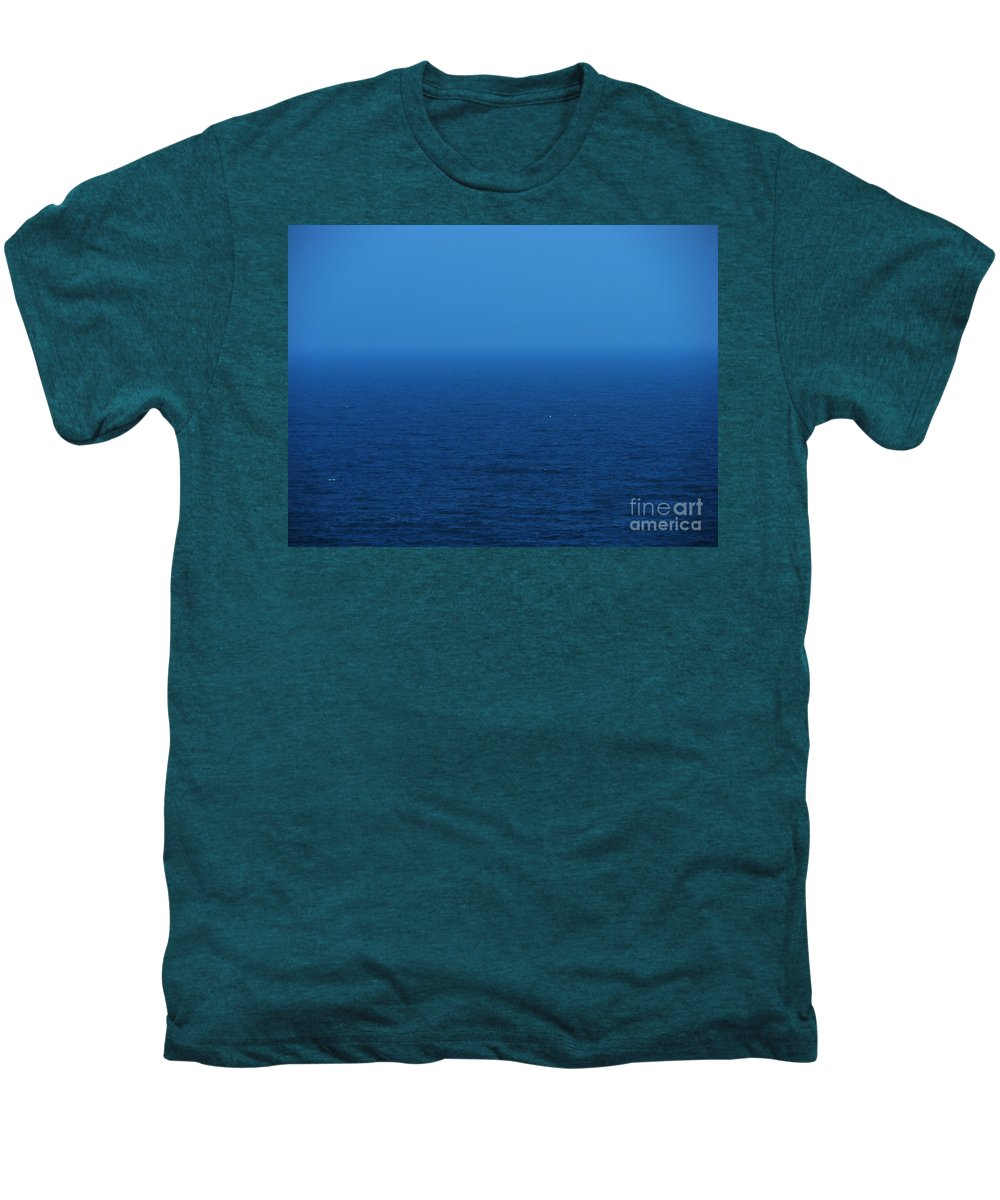 Blue Men's Premium T-Shirt featuring the photograph Stepping Into A Dream by Amanda Barcon