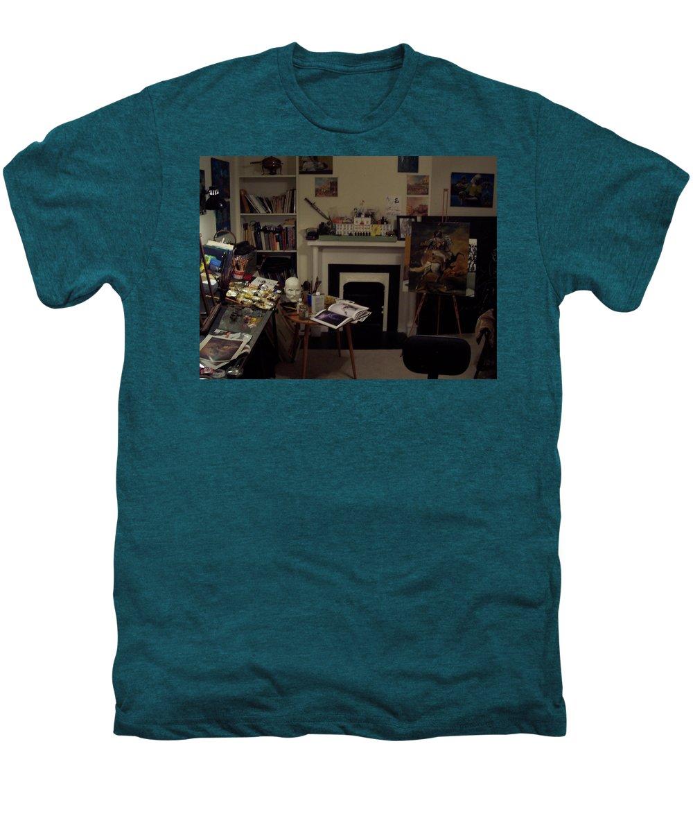 Men's Premium T-Shirt featuring the photograph Savannah 9studio by Jude Darrien